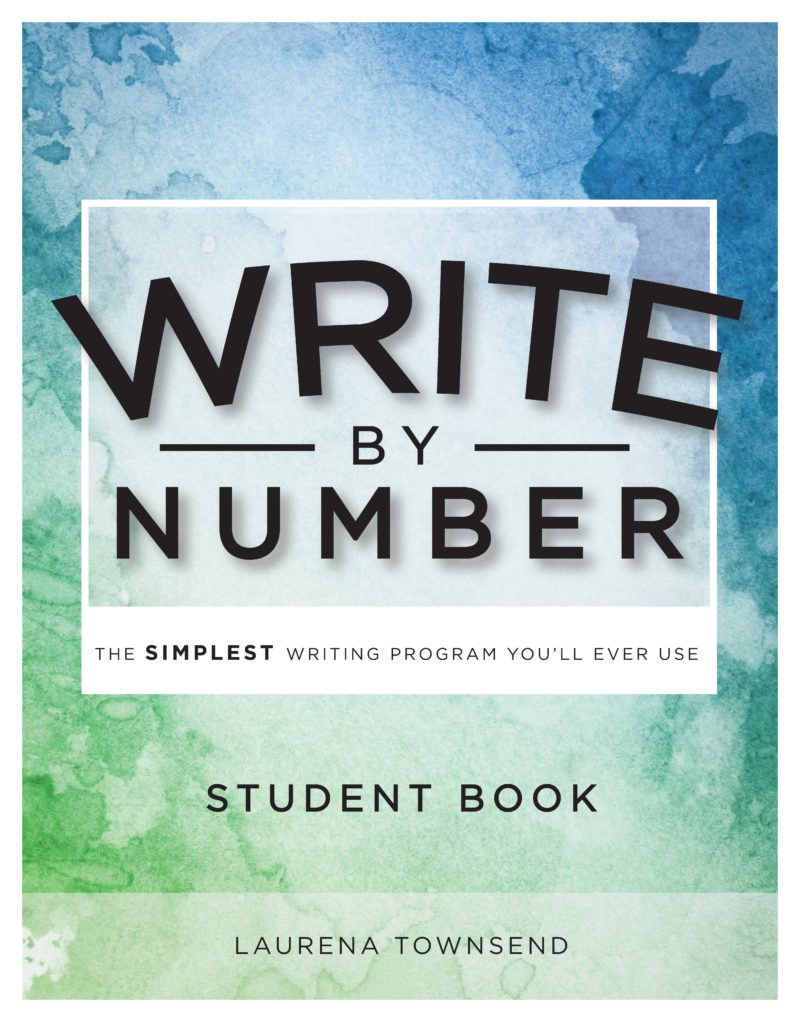 Write by Number Student Book Front Cover