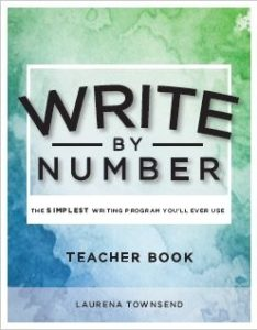 Write by Number Teacher Book Front Cover